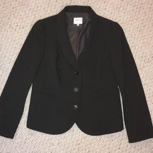 Armani Collezione Gray wool blazer women's 10